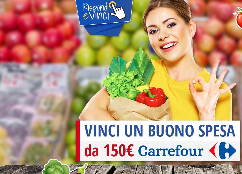Buono spesa da 150 euro supermercati Carrefour