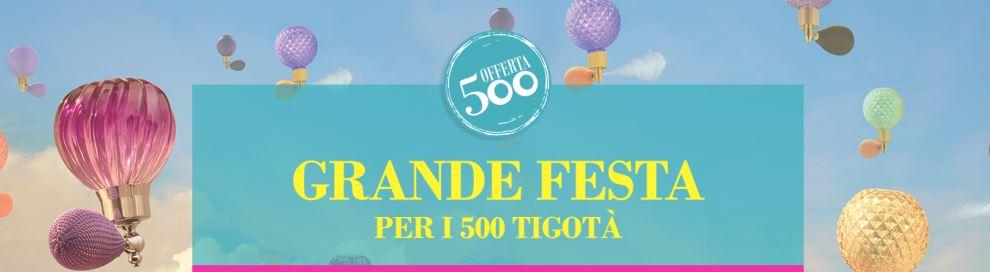 Grande Festa: 400.000 premi per i 500 Tigotà