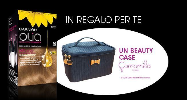Olia ti regala un Beaty Case Camomilla Milano.
