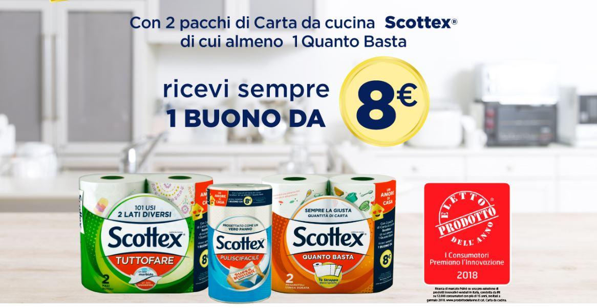 """Scottex """"un amore di casa"""": richiedi buoni da 8 € e regali per tutti"""